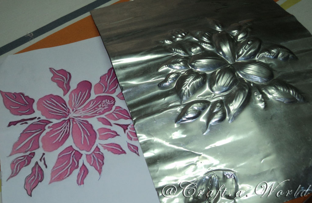 foil craft zeeshcreation