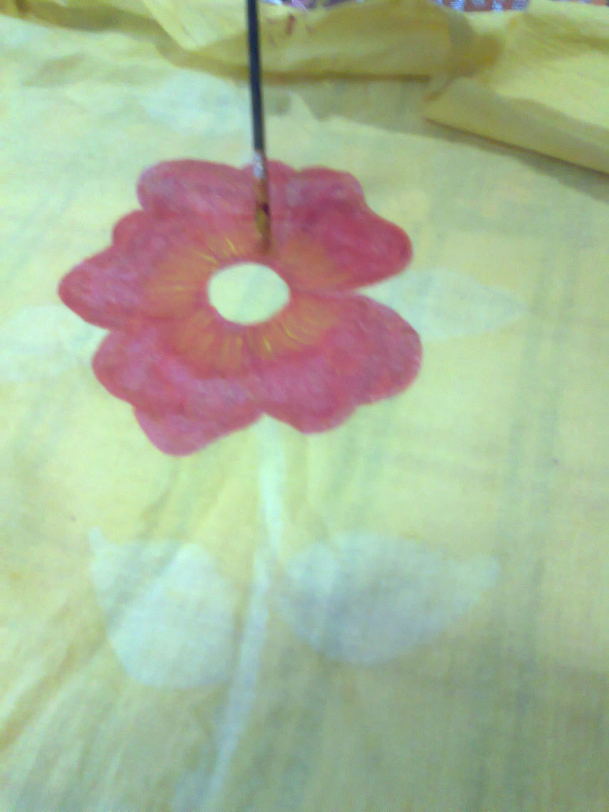 Table cover with Fabric Painting | zeeshcreation